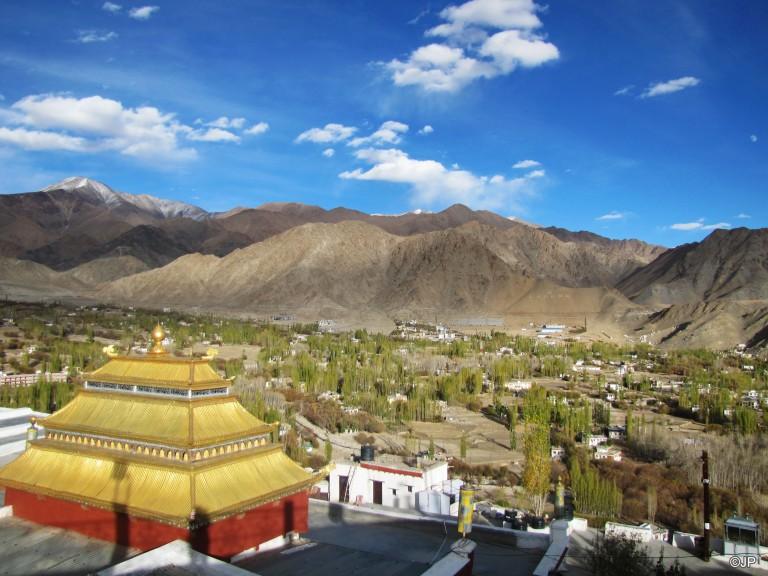 7_Shanti Stupa_Monk's Quarters